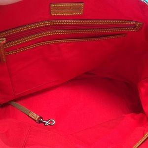 Dooney & Bourke Bags - Black Leather Dooney & Bourke Tote Bag